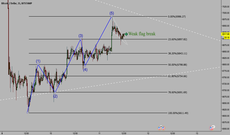 BTCUSD: BTC Showing Signs of Another Drop: MicroAnalysis