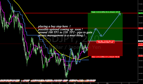 USDJPY: uptrend taking place here .