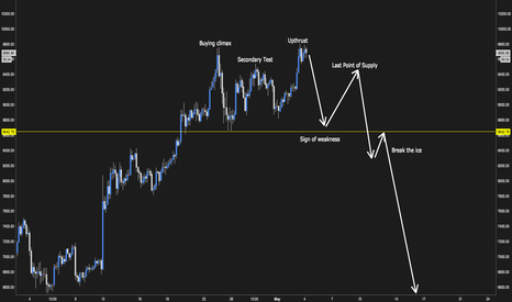 BTCUSD: BTC Wyckoff Distrbution
