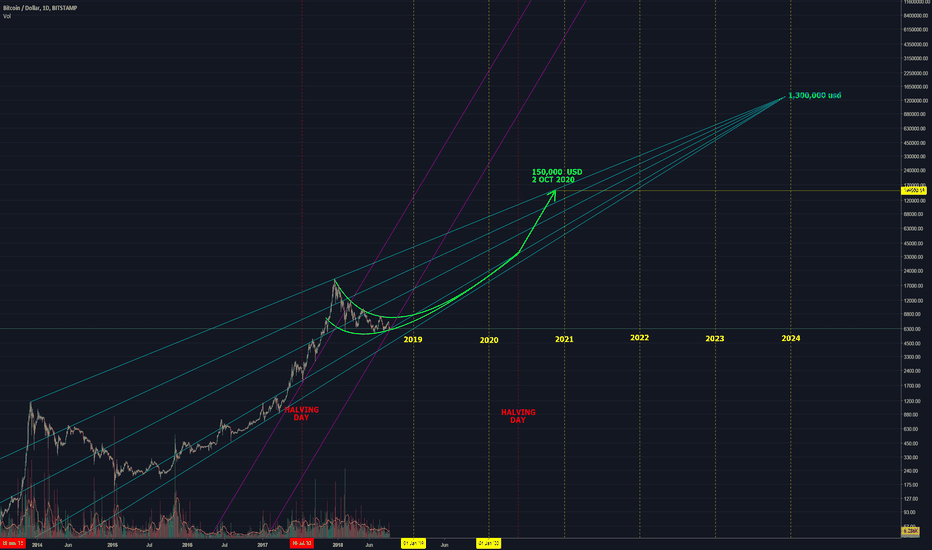 BTCUSD: Bitcoin bullish idea, long term one