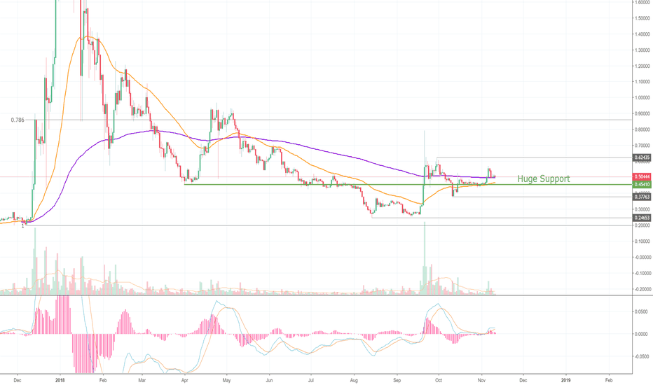 XRPUSD: Ripple Grinds on Critical Support! (XRP) =D
