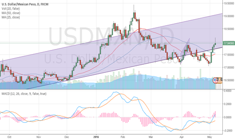 USDMXN: USD/MXN bulls clearly in charge