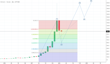 BTCUSD: bitcoin Elliott wave 02-17 04:03 korea