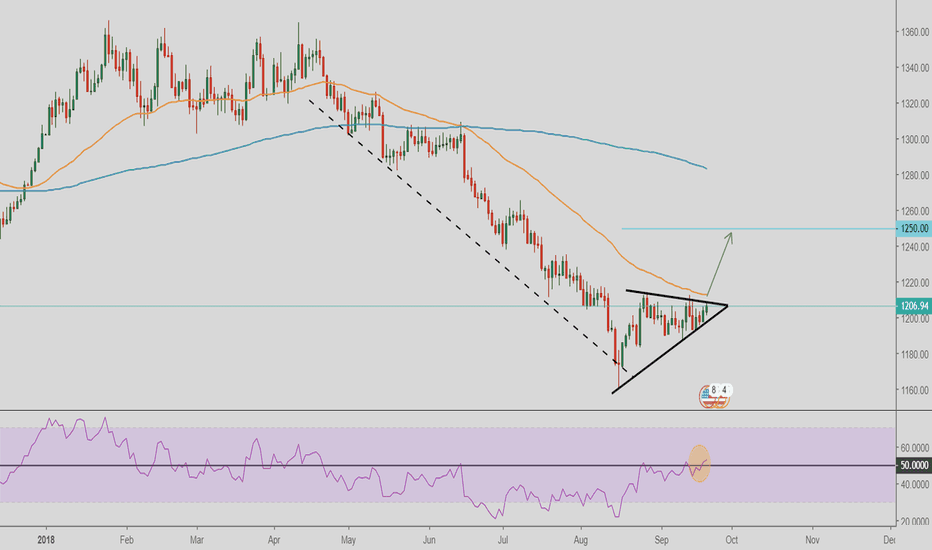 XAUUSD: GOLD ready to go to 1250