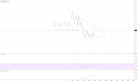 TWTR: TWTR monthly - turning up