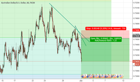 AUDUSD: FXE Chart Markup Trade Results