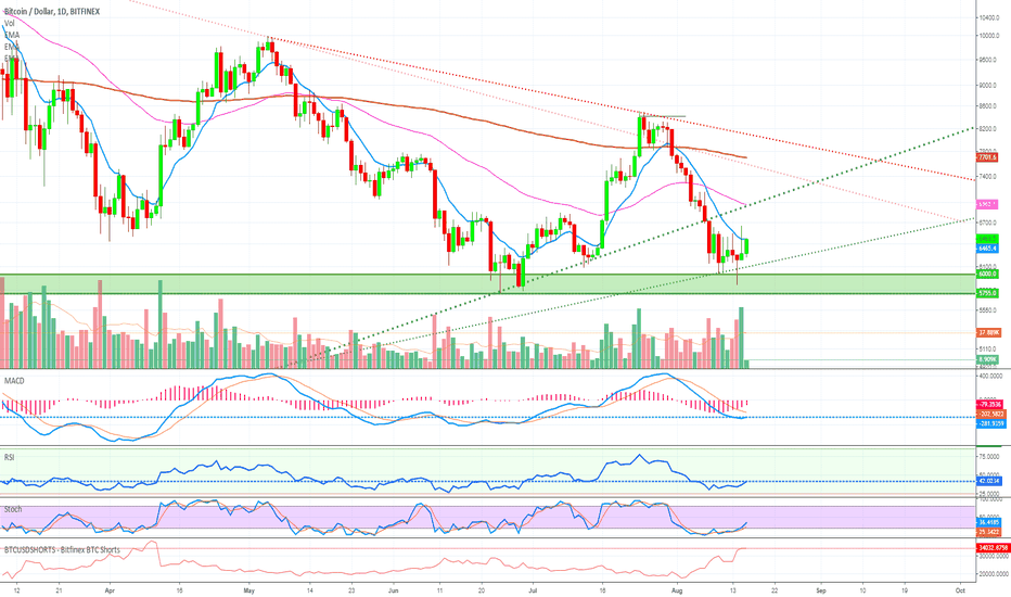 BTCUSD: Time To BUY Bitcoin - Retrace Over?! (Another Wave Up Is Coming)