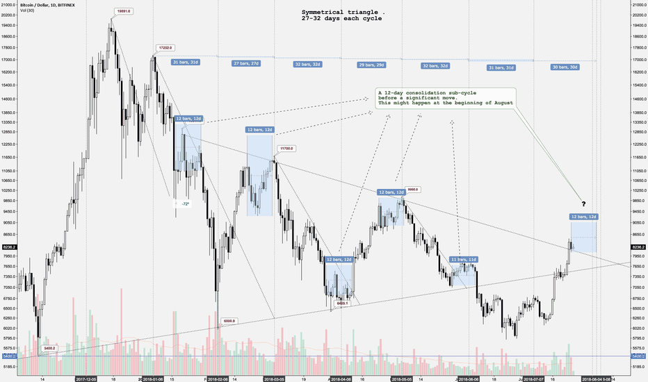 BTCUSD: Bitcoin's cycles