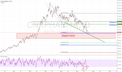 CNXPHARMA: Pharma Index at long term support