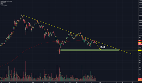 BTCUSD: Wouldnt be surprised if BTC goes below $7k