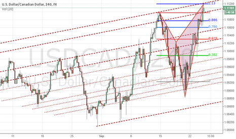 USDCAD: Bearish Shark USDCAD 4H