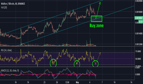 WTCBTC: Walton - Great buy at the bottom of its channel
