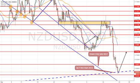 NZDUSD: long at 0.6955 target 0.7055