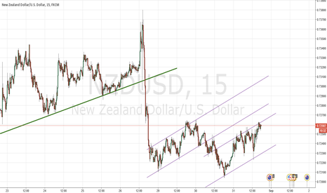 NZDUSD: NZD is strong, but dont breakout the chanel, will go SHORT,