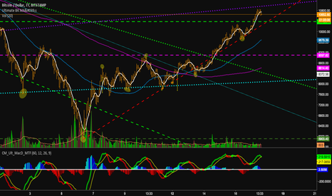 BTCUSD: Bitcoin heading for reversal around the purple trendline