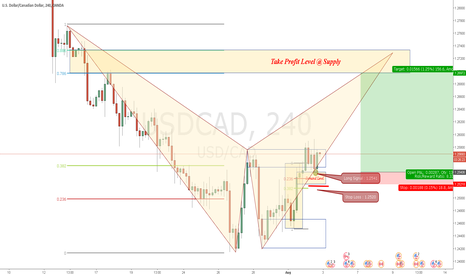 USDCAD: Looking for Long. USDCAD