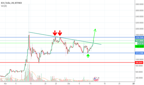 BCHUSD: Bitcoin Cash - Clear your vision and think beyond $2000