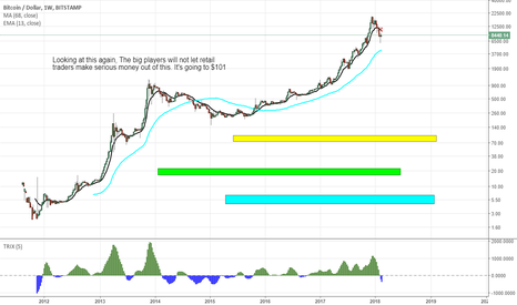 BTCUSD: BTCUSD Update:$101 Are you with me yes or no?