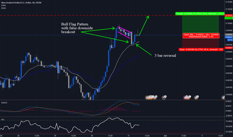 NZDUSD: NZDUSD Breakout with false sell off test