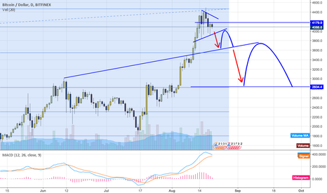 BTCUSD: $BTC down over coming weeks