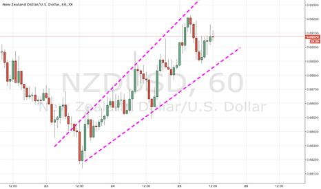 NZDUSD: NZDUSD Ascending Candlestick Channel