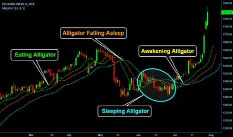 YESBANK: Bill Williams – Alligator Indicator