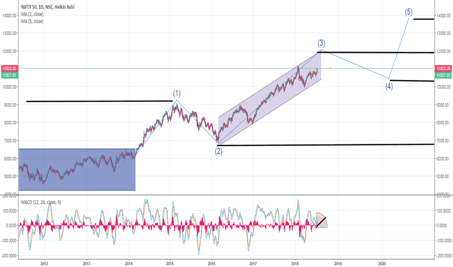 NIFTY: Nifty Muklti Year Probable Path.