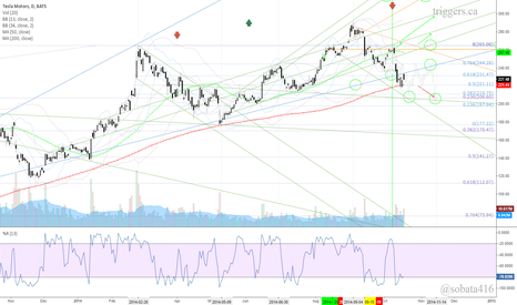 TSLA: $TSLA - daily chart
