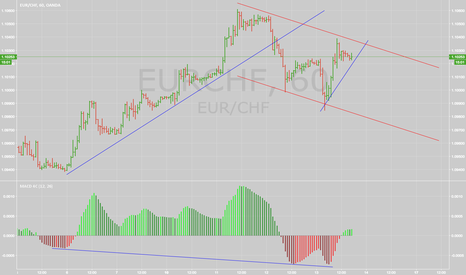 EURCHF: EURCHF short setup. Bearish divergence on MACD
