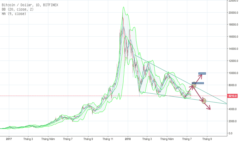 BTCUSD: BTC Long Term 2018 By HoangHiep