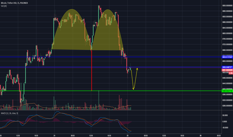 BTCUSDT: Finish double top pattern then bullish