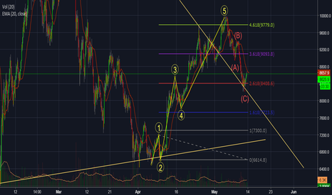 BTCUSD: longterm bitcoin trend wave analysis