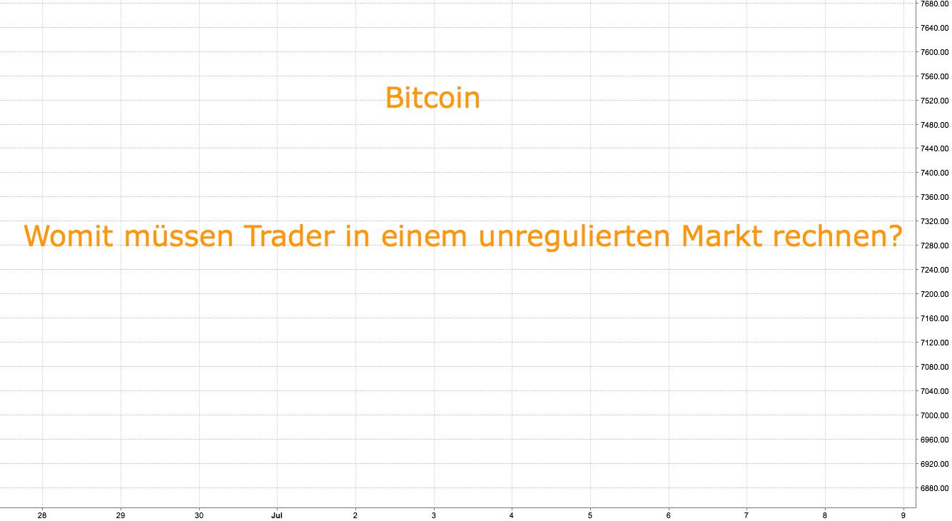"""Was bedeutet """"unregulierter Markt"""" für Bitcoin?"""