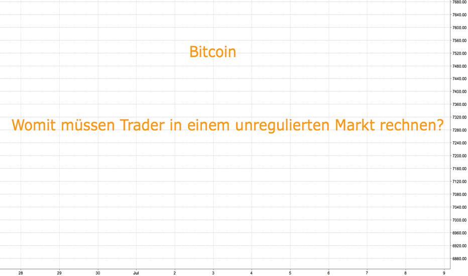 """BTCUSD: Was bedeutet """"unregulierter Markt"""" für Bitcoin?"""