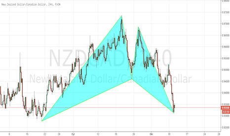 NZDCAD: NZDCAD H4 BULLİSH GARTLEY