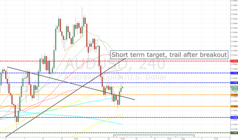 AUDUSD: Full list of levels with volume and open interest for news