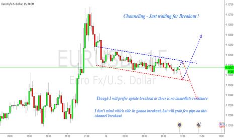 EURUSD: EURUSD : Channeling - Wait for Breakout !
