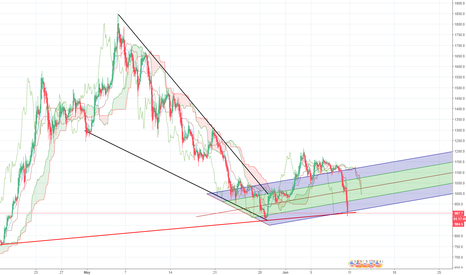 BCHUSD: BCH gonna bounce up! hit my red line !
