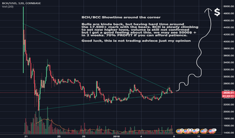 BCHUSD: Bitcoin Cash - The launch is around the corner?