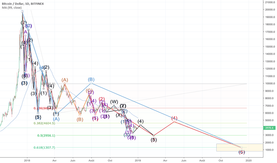 BTCUSD: Analyse long terme du crash sur BTC