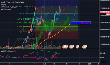 BTCUSDT: BTC/USDT - Correction incoming