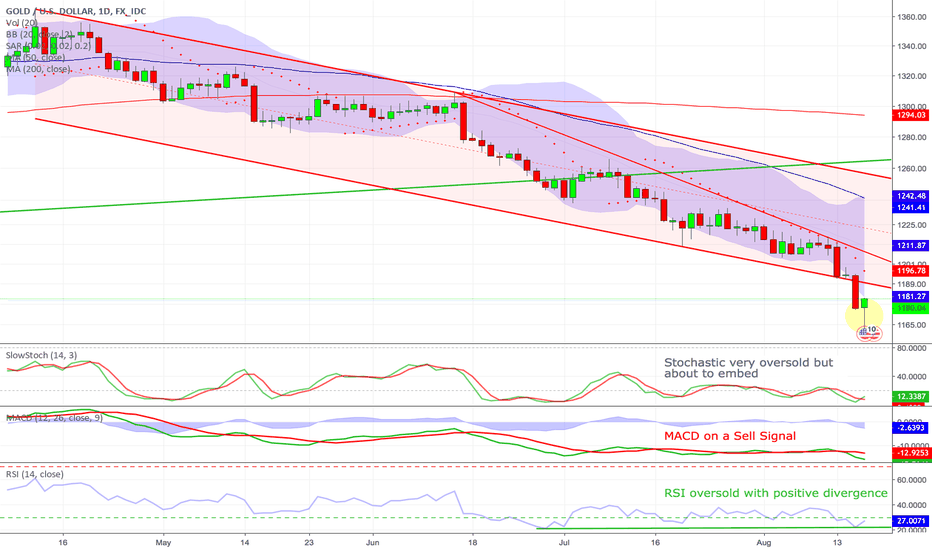 XAUUSD: Gold - Finally the reversal is here