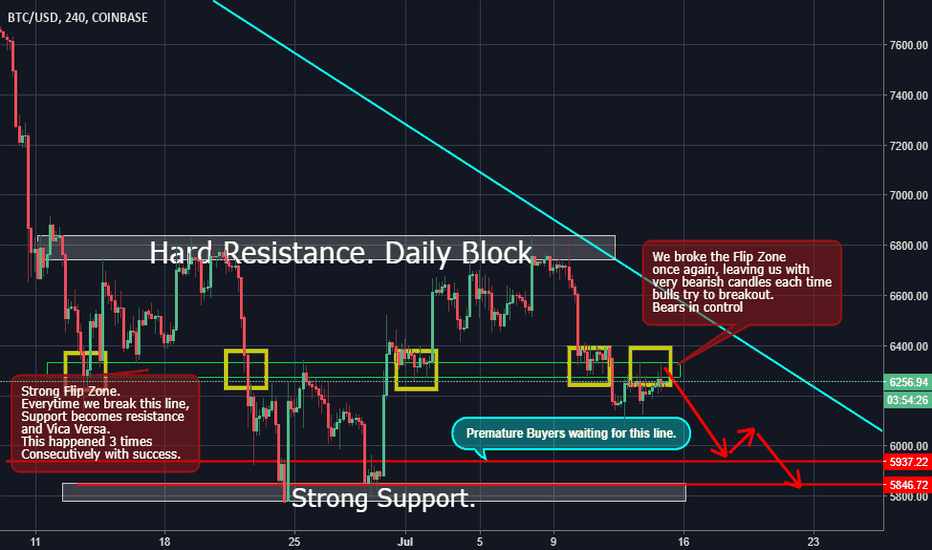 BTCUSD: Btc, A Shed of Light with Simple Analysis.