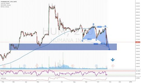 HUM: HUM on support with harmonic pattern