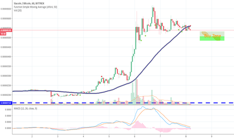 SCBTC: SHORT Sia short correction and continuing uptrend