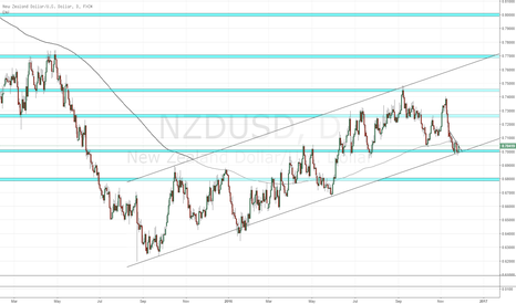 NZDUSD: NZD/USD support. long potential.