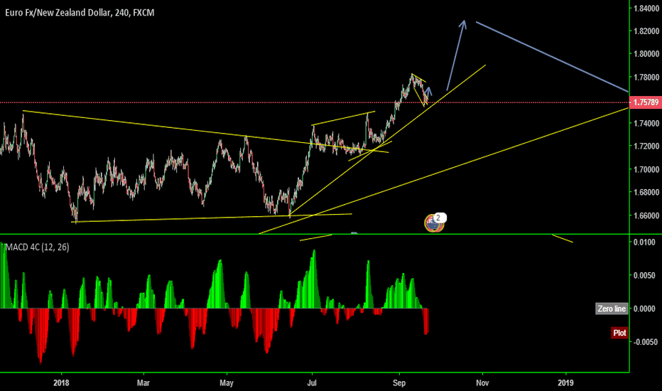 EURNZD: EN One more move up before the sell