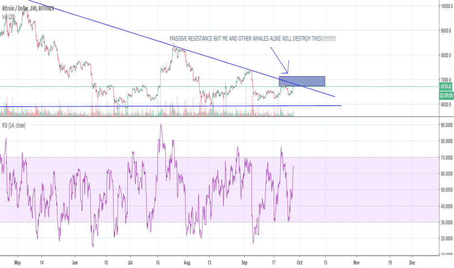 BTCUSD: MASSIVE RESISTANCE OF 8 MONTHS INCOMING!!!!!!!!!!!!!!!!!!! TRAP?