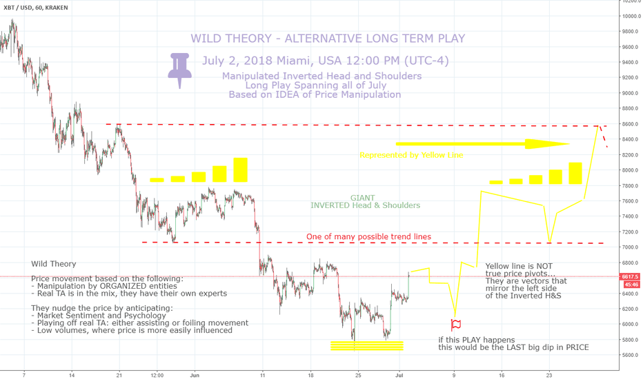 XBTUSD: BTC - the WILDEST THEORY YET - a Manipulated Bull Run???