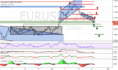 EURUSD: Analysis and forecasts for EUR / USD 23/02/16